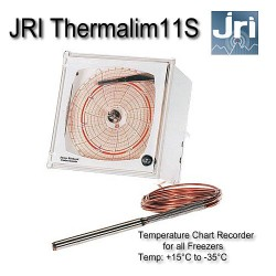 JRI Thermalim 11S Chart Recorder : Freezer